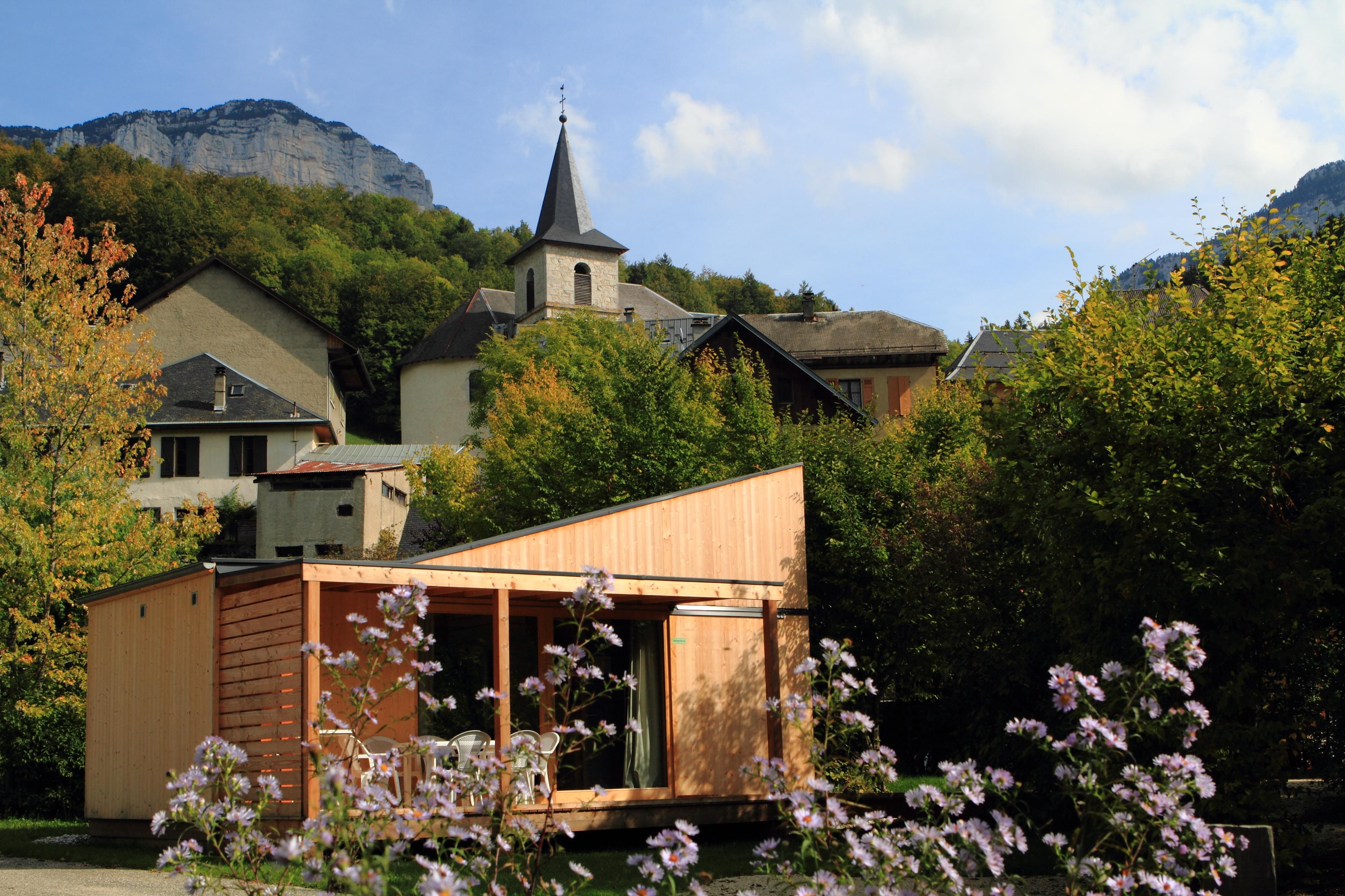 Réalisation en Bois de Chartreuse - HLL en bois massif