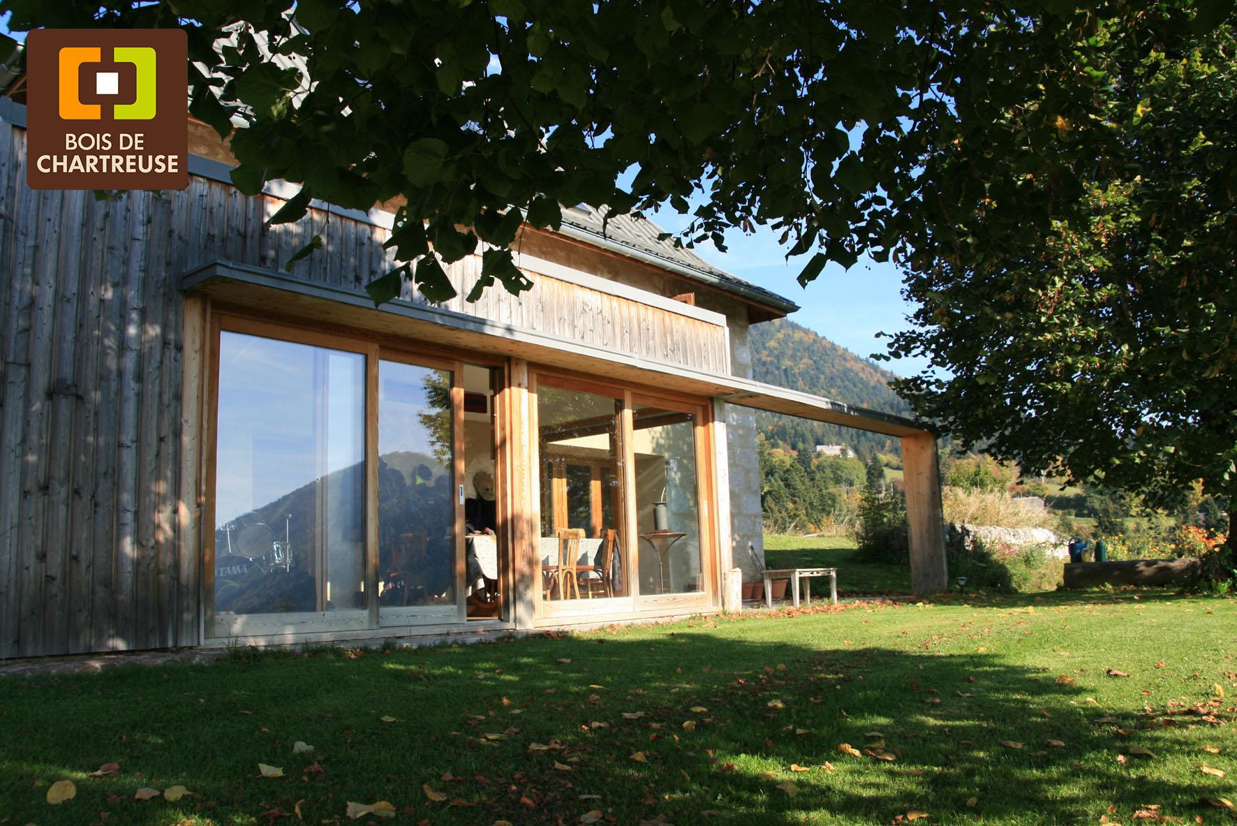 Réalisation en Bois de Chartreuse - Extension de maison