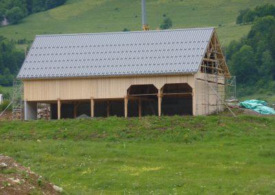 Bâtiment agricole, 2008