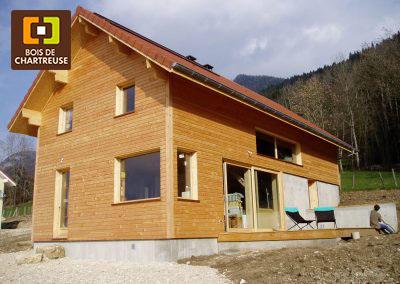 Maison ossature bois, 2012